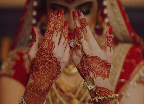 marriage mehndi