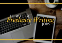 freelance writing job