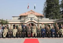 Lt. Gen. Muhammad Zaki, Minister of Defense visit to pakistan